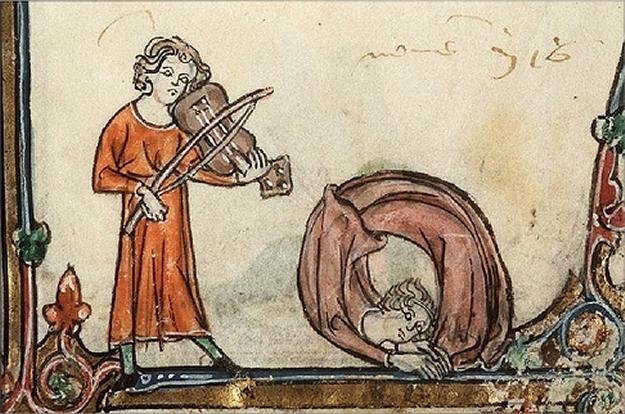 Esto no tiene nada que ver con nada, pero las pinturas medievales raras nunca sobran